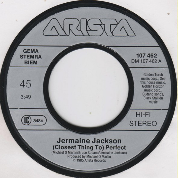 Jermaine Jackson (Closest Thing To) Perfect