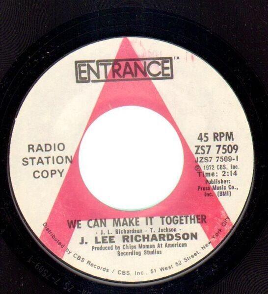 #<Artist:0x007f6e193d3518> - We Can Make It Together / Next Door Love