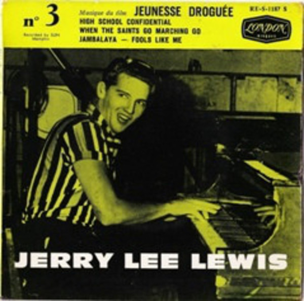 JERRY LEE LEWIS - Jerry Lee Lewis No.3 (CARDBOARD SLEEVE.) - CD single