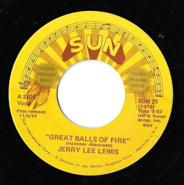 #<Artist:0x00007fce9274a2a8> - Great Balls Of Fire