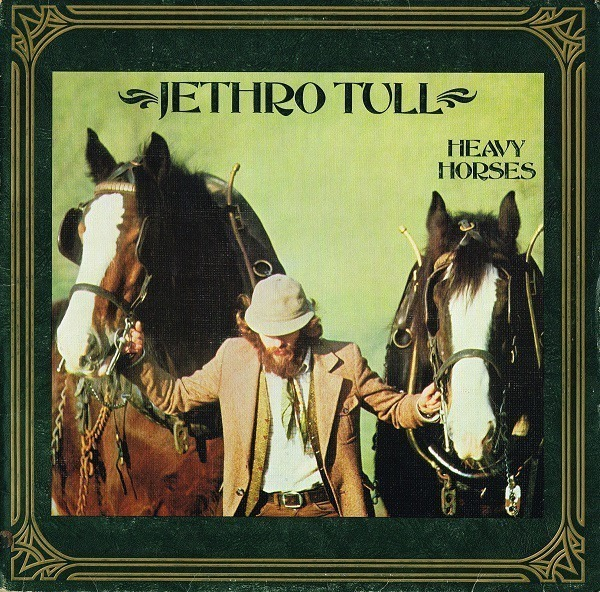 jethro tull heavy horses (textured cover)