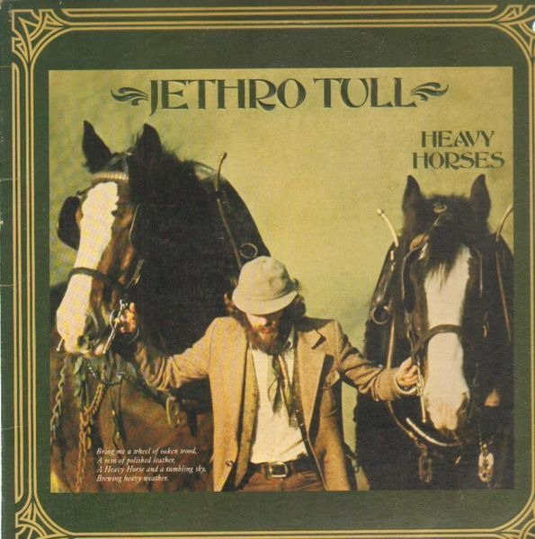 jethro tull heavy horses (textured and embossed cover)