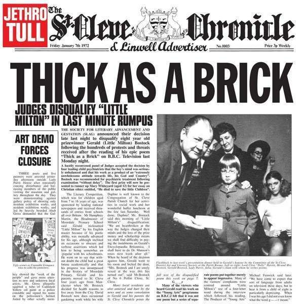 #<Artist:0x007f820cd174d8> - Thick as a Brick