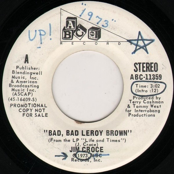 #<Artist:0x007f821fb07798> - Bad,bad leroy brown