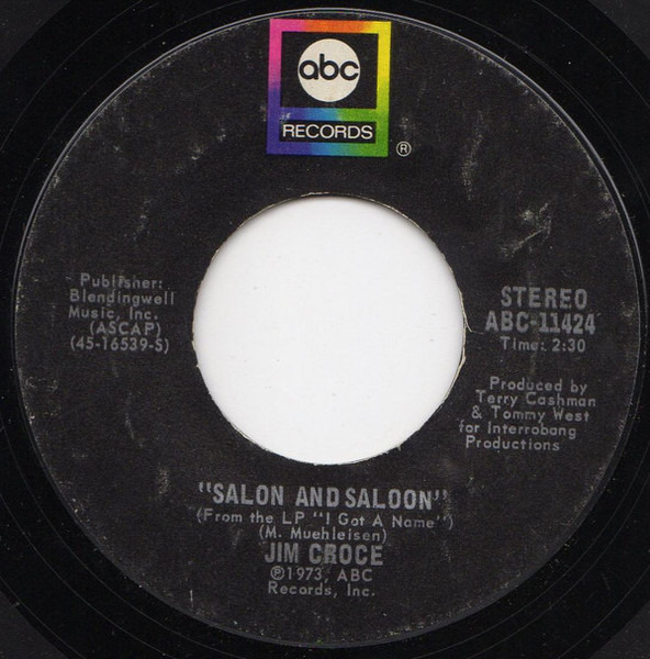 #<Artist:0x007f41d3a4dc58> - I'll Have To Say I Love You In A Song / Salon And Saloon