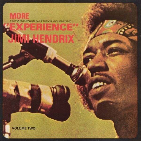 jimi hendrix accompanied by mitch mitchell and noe more experience (volume two)
