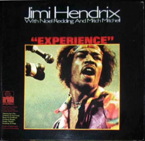 Jimi Hendrix With Noel Redding And Mitch Mitchell 'Experience'