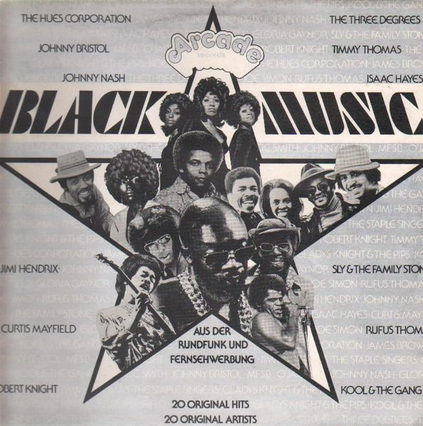 Jimi Hendrix, Isaac Hayes, Curtis Mayfield, Sly & Black Music