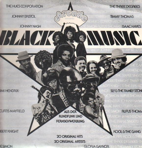 Jimi Hendrix, Isaac Hayes, Curtis Mayfield,.. Black Music