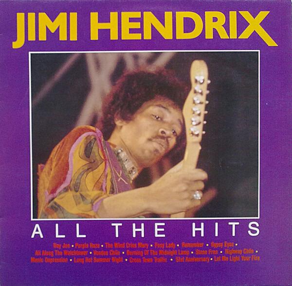 Jimi Hendrix all the hits