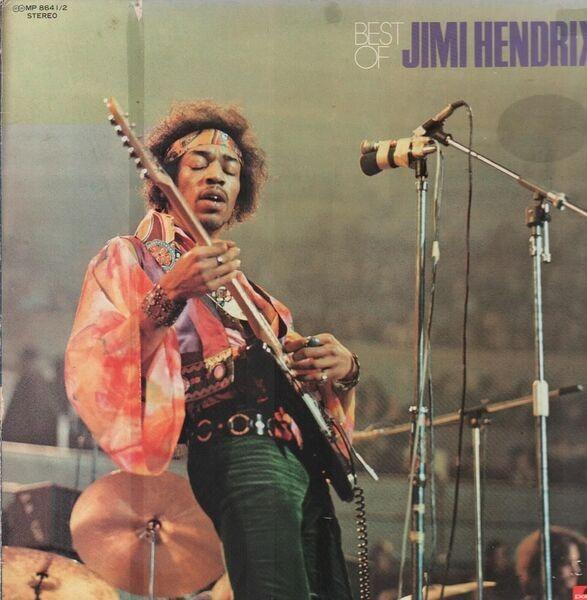 Jimi Hendrix Best Of Jimi Hendrix (POKORA 4001. UNIQUE COVER)