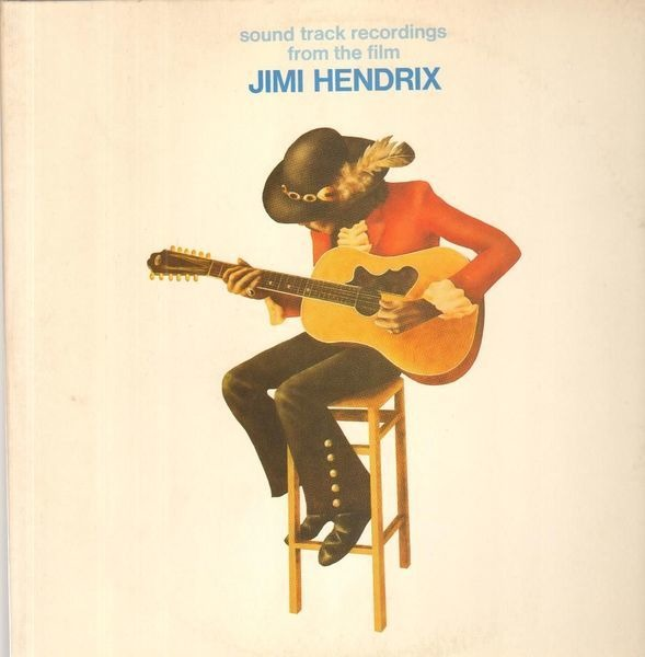 jimi hendrix sound track recordings from the film jimi hendrix (original 1st german promo)