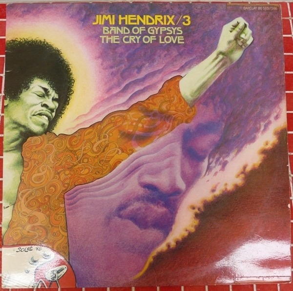 Jimi Hendrix 3 Band Of Gypsys / The Cry Of Love