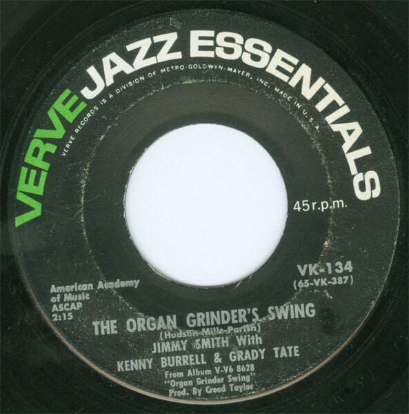#<Artist:0x007ff3620d9488> - The Organ Grinder's Swing / I'll Close My Eyes