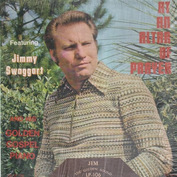 At an altar of prayer by Jimmy Swaggart, LP with recordsale