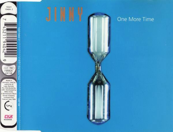 JINNY - One More Time - CD single