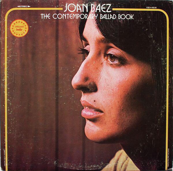 Joan Baez The Contemporary Ballad Book