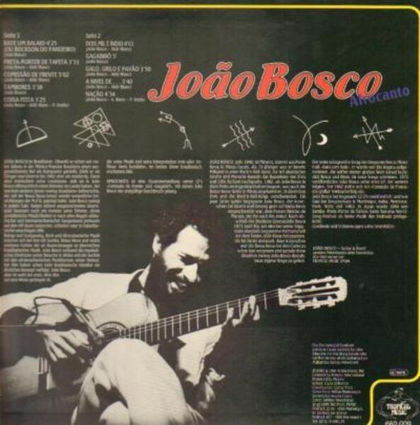 João Bosco Afrocanto
