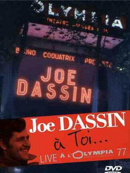 JOE DASSIN - À Toi... Live À L'Olympia 77 (STILL SEALED) - DVD