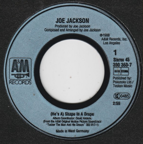 Joe Jackson (He's A) Shape In A Drape