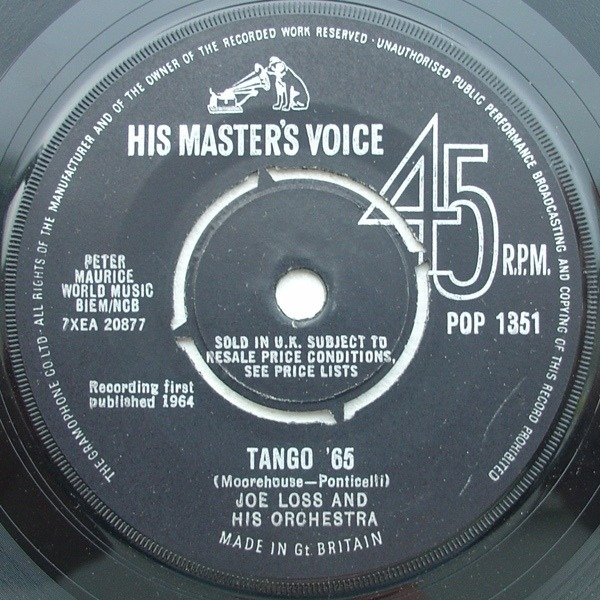 #<Artist:0x007faf3f611f70> - March Of The Mods / Tango '65