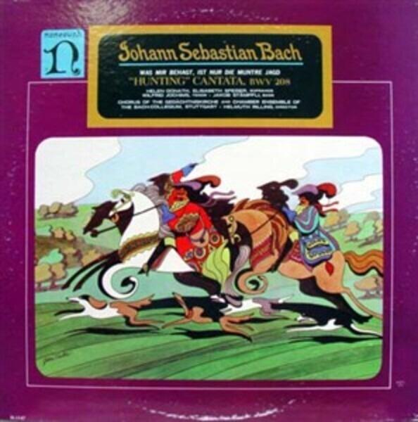 Johann Sebastian Bach / Helen Donath , Elisabeth S 'Hunting' Cantata, BWV 208: Was Mir Behagt, Ist Nur Dir Muntre Jagd