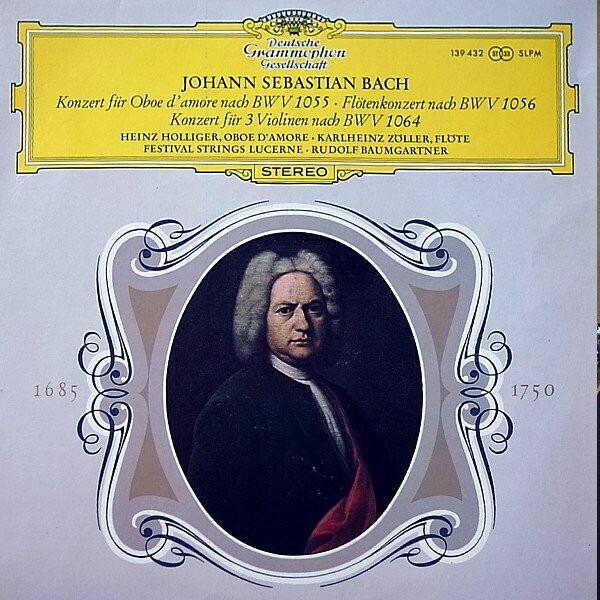 Johann Sebastian Bach ; Heinz Holliger , Karlheinz 3 Concertos