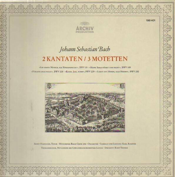 Johann Sebastian Bach 2 Kantaten / 3 Motetten