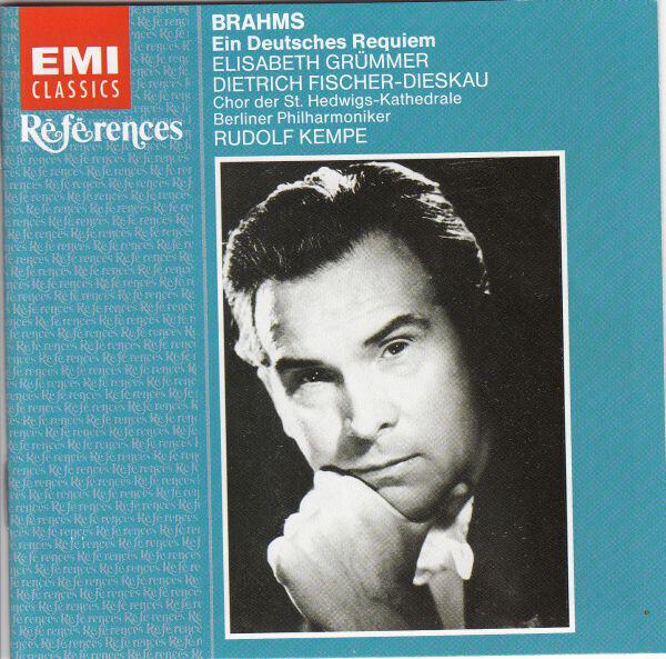 #<Artist:0x00007f651cea0208> - Ein Deutsches Requiem (Grümmer / Dieskau / Kempe)