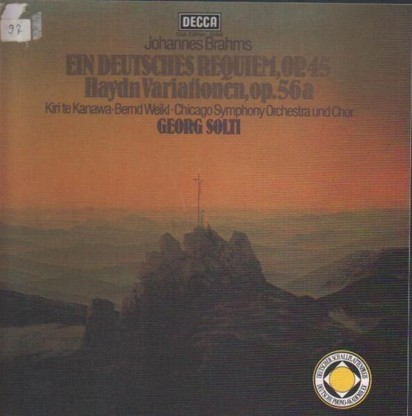 #<Artist:0x007f704a5eb228> - Ein Deutsches Requiem Op. 45 - Haydn Variationen Op. 56a