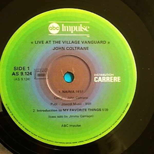 Live at the village vanguard again! (gatefold) by John Coltrane, LP with  recordsale