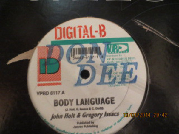 John Holt & Gregory Isaacs / Lukie D Body Language / Lonely Is The Night