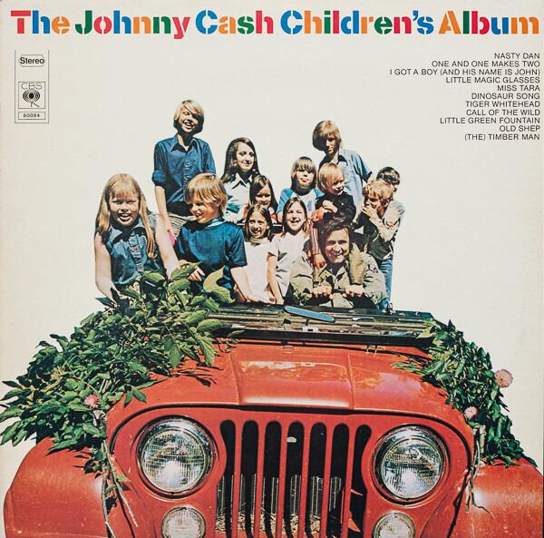 #<Artist:0x007f14904343f0> - The Johnny Cash Children's Album