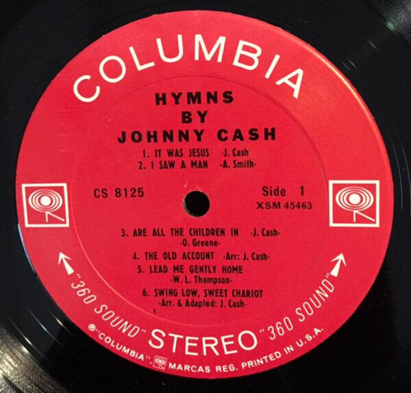 Johnny Cash Hymns By Johnny Cash (2 EYE)
