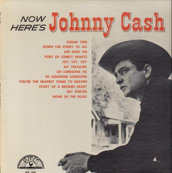 #<Artist:0x00007f6fbd56eee0> - Now Here's Johnny Cash