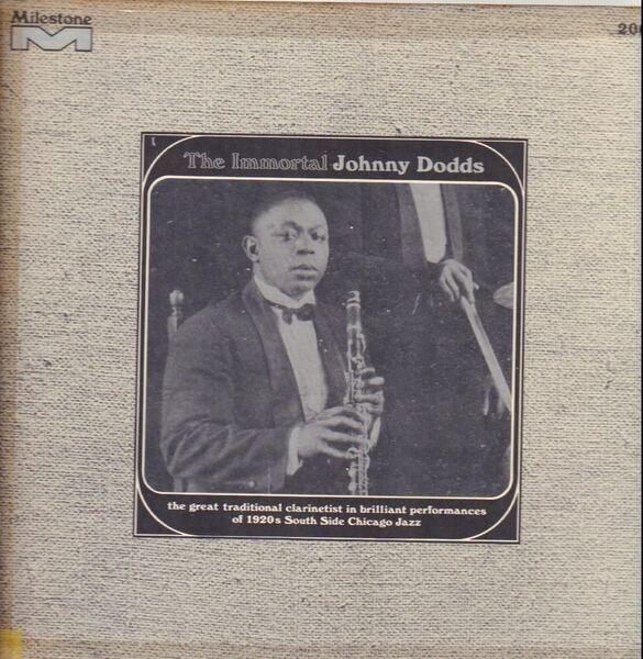 #<Artist:0x00007fd8e464fd60> - The Immortal Johnny Dodds