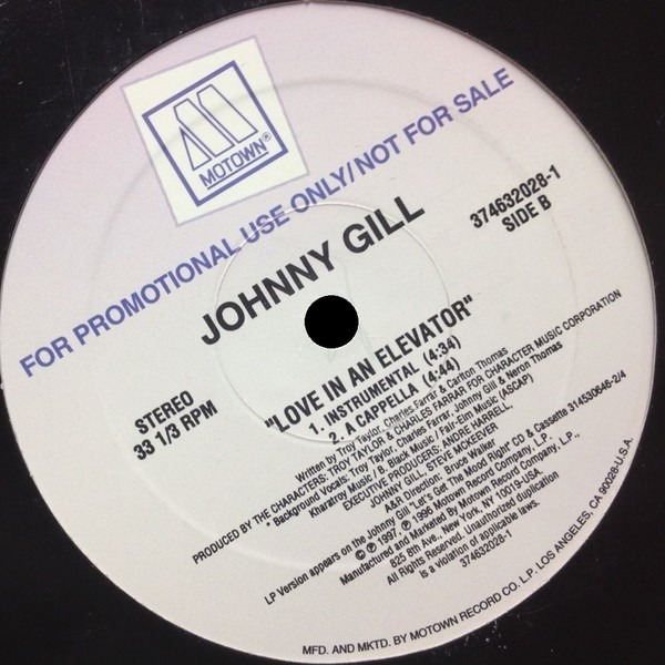 Johnny Gill Love In An Elevator