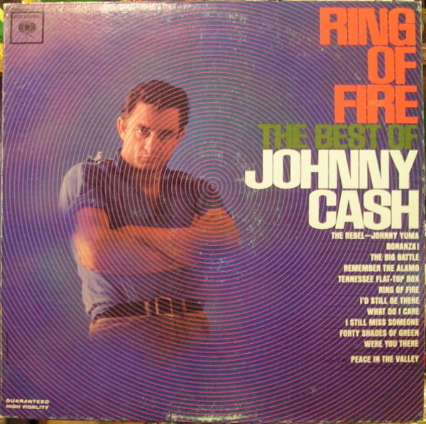 #<Artist:0x00007fcea5ab0920> - Ring Of Fire - The Best Of Johnny Cash