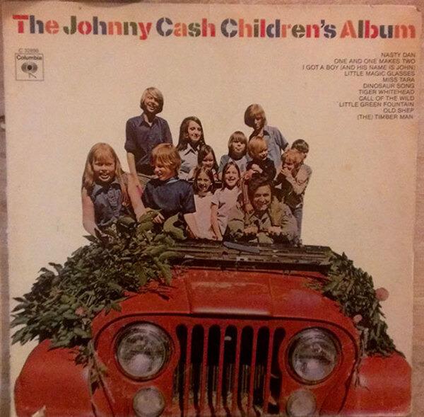 #<Artist:0x007f04d315ae58> - The Johnny Cash Children's Album