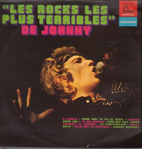 Johnny Hallyday 'Les Rocks Les Plus Terribles' De Johnny