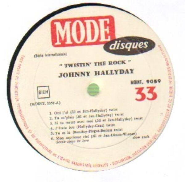 Johnny Hallyday Twistin' The Rock