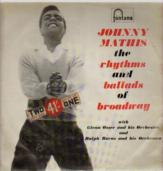 johnny mathis the rhythms and ballads of broadway