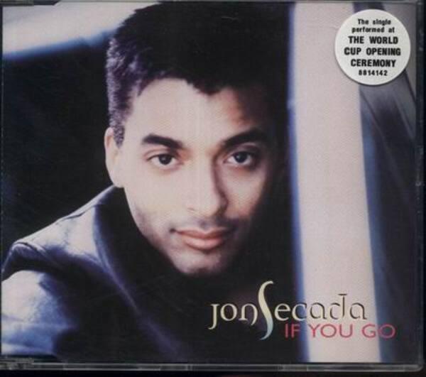 JON SECADA - If You Go - CD single