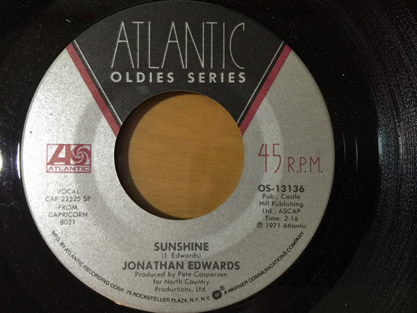 #<Artist:0x00007fd8e67ea358> - Sunshine / Good Time Charlie's Got The Blues