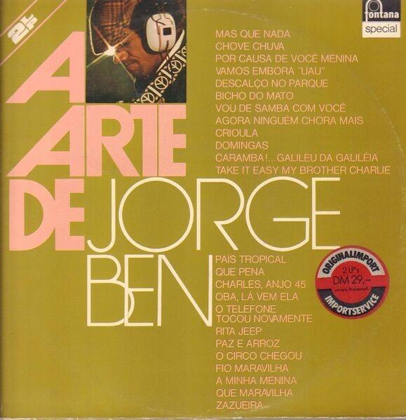 JORGE BEN - A Arte De Jorge Ben (GATEFOLD) - 33T x 2