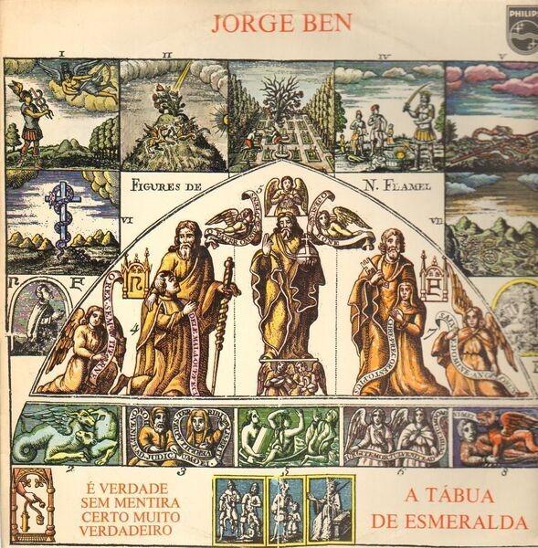 JORGE BEN - A Tábua De Esmeralda (ORIGINAL BRAZIL) - 33T