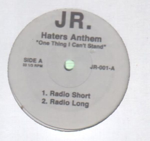 "#<Artist:0x007f819b115fe8> - Haters Anthem ""One Thing I Can't Stand"