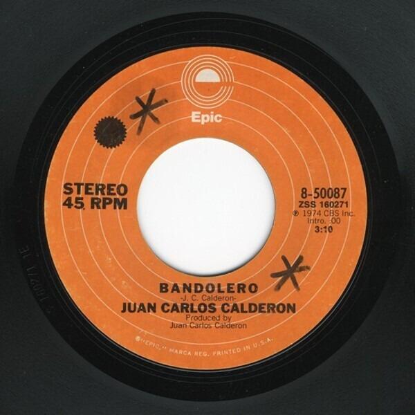 Juan Carlos Calderón Bandolero
