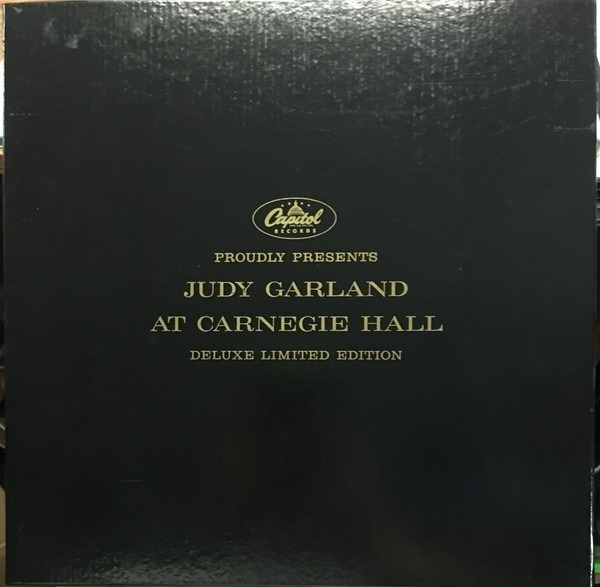 JUDY GARLAND - Judy At Carnegie Hall - LP x 3