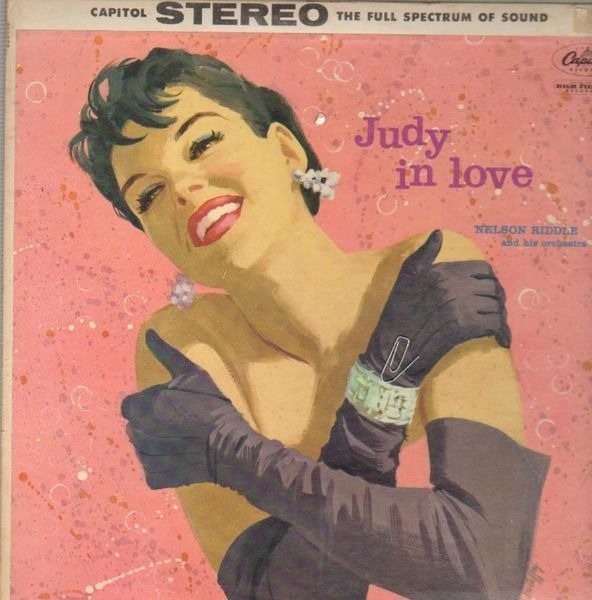 JUDY GARLAND - Judy In Love - LP